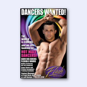 Dancers Wanted at Flash